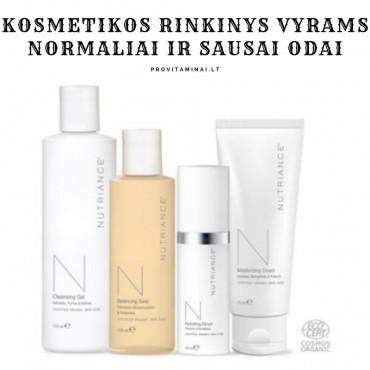 Kosmetikos rinkiniai vyrams, normaliai ir sausai odai