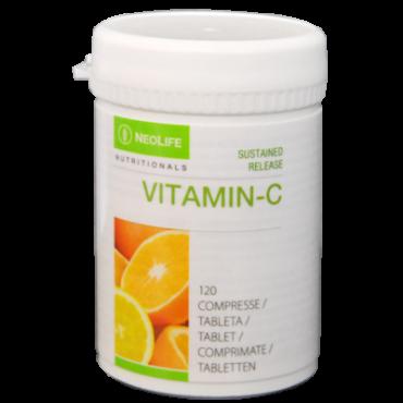 """""""Sustained Release Vitamin C"""", vitamino C maisto papildas"""
