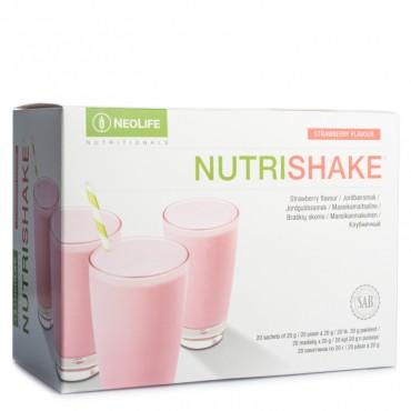 """""""NutriShake"""", baltyminis gėrimas, braškių skonio"""