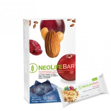"""""""NeoLifeBar"""", vaisių ir riešutų batonėlis"""
